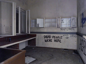 DEAD PEOPLE WERE HERE